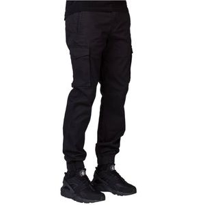 LEVIS | Black Banded Cargo Joggers Pants Size 31